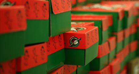 Operation Christmas Child Box Collection