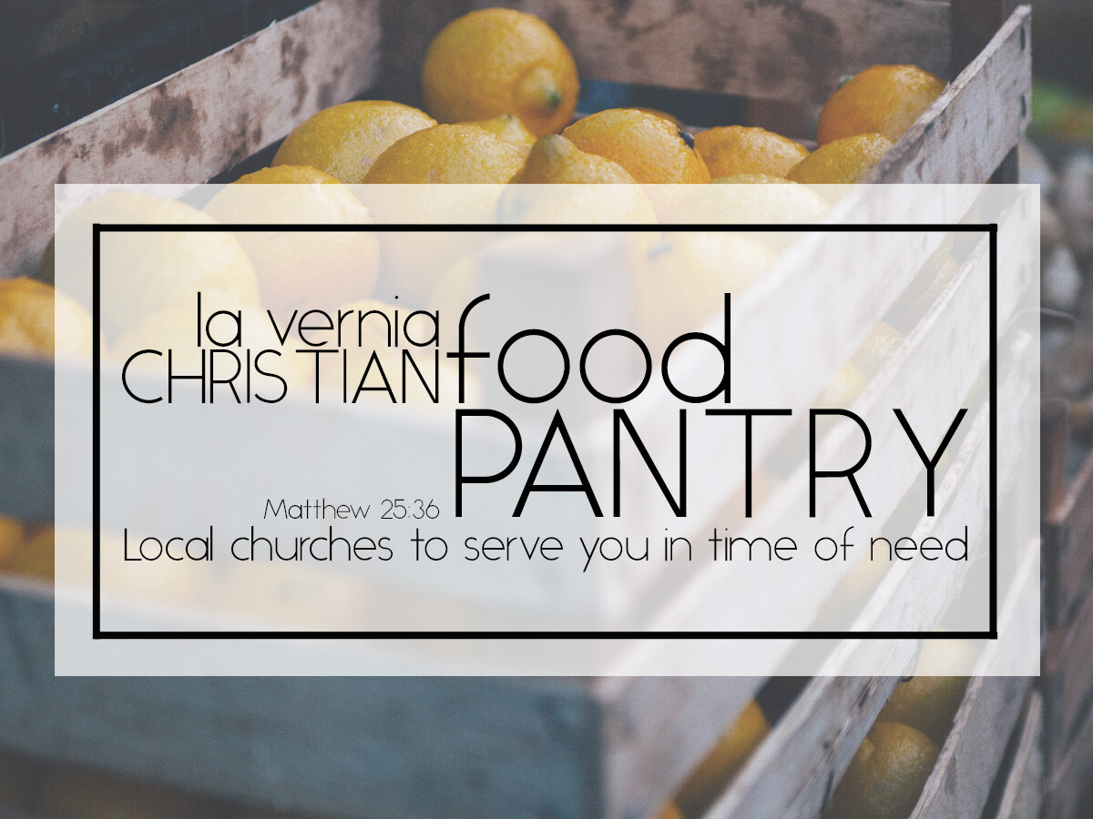 Food Pantry Workday