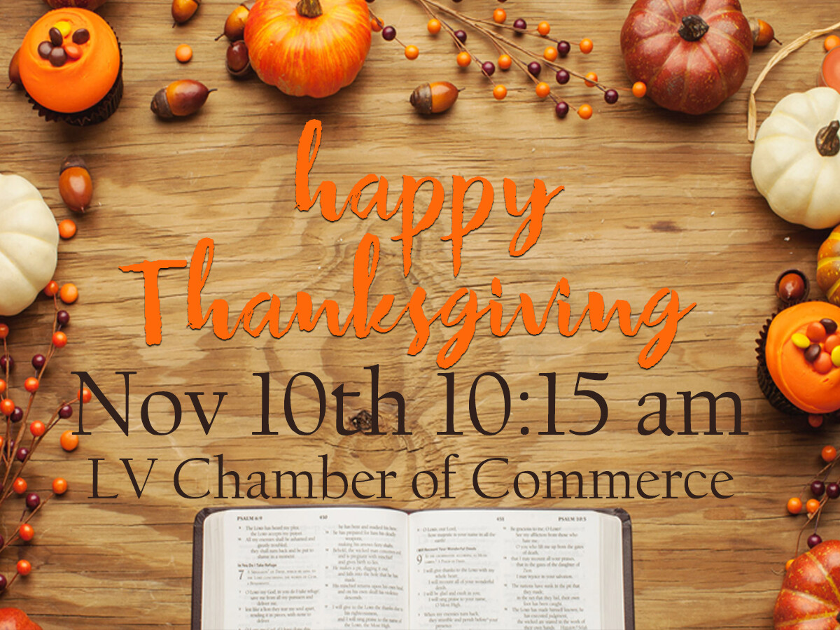Churchwide Thanksgiving Service & Family Meal